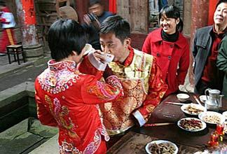 江西特色婚俗:真正中国风的结婚典礼