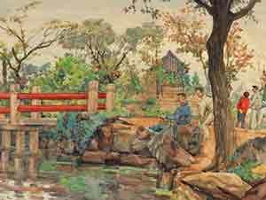 中国水彩画:革命年代的浪漫情怀