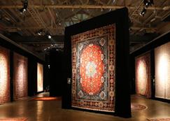 艺术织毯下波斯地毯广告位