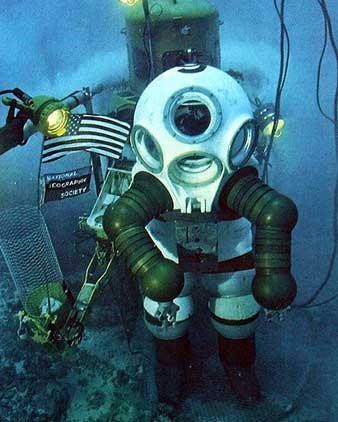 三百年前的潜水服挺先进