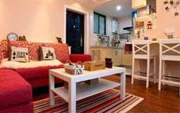 甜蜜婚房装修案例 演绎60平米温暖一居室
