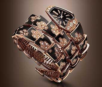 宝格丽Serpenti蛇形系列腕表