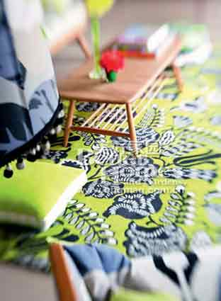 惊艳你的眼球!花样地毯魅力空间