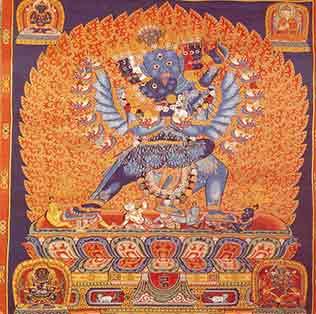 唐卡——刺绣中藏教文化的瑰宝