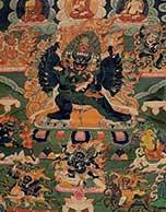 在热贡画院感悟中国非物质文化遗产唐卡之美