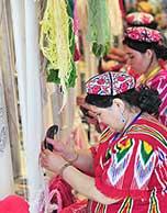巧手织毯绘景程