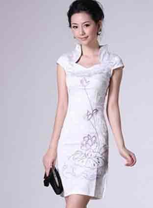 最新最时尚改良旗袍发型体现女性最迷人姿色