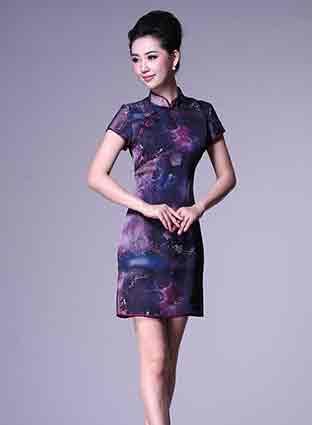 风靡世界的绝美旗袍 造就优雅时尚女人