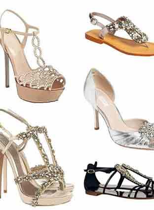 华丽宝石鞋 优雅气质范从脚开始