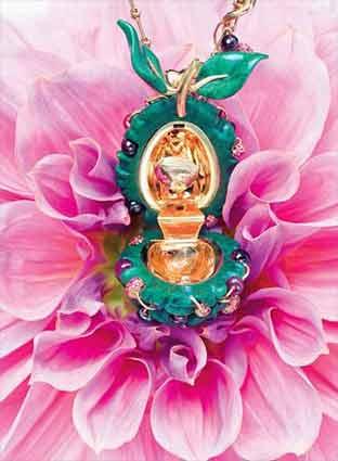 浪漫半世纪的维多利亚时代繁花珠宝