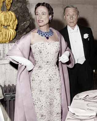 传奇女性温莎公爵夫人与珠宝