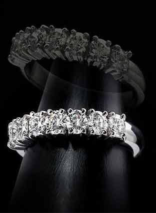 Diamondland 婚戒创造简约风格的经典