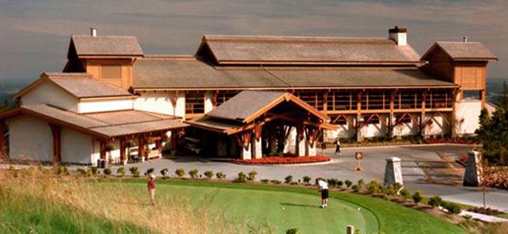 温哥华高尔夫知名球场