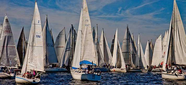 帆船已成世界流行运动