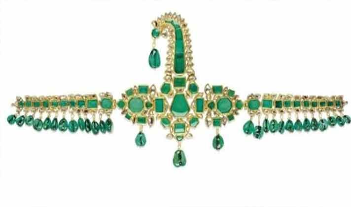 即将被拍卖的祖母绿珍宝