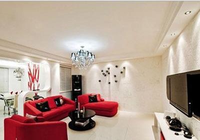 新年氛围用家居饰品打扮  年味最是那一抹红
