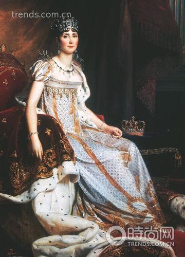 品牌第一位缪斯女神约瑟芬皇后Marie Louise