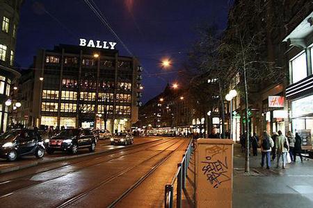 瑞士苏黎士班霍夫大街