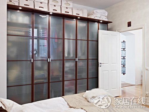 超耐看的两室一厅 家居空间规划很实用