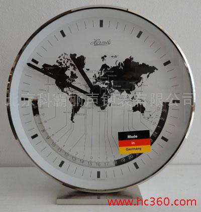 德国原装赫姆勒Hermle钟 世界时座钟22843