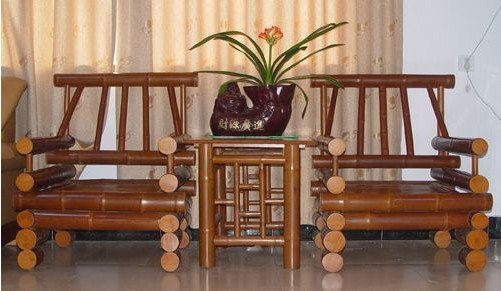竹家具优点众多 为何市场反响不热烈?
