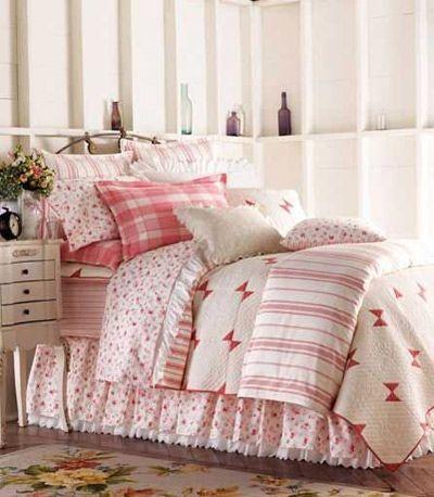 绚色床品给秋季卧室添暖意