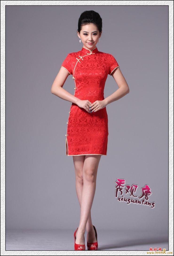 时尚改良旗袍的四种魅力穿法