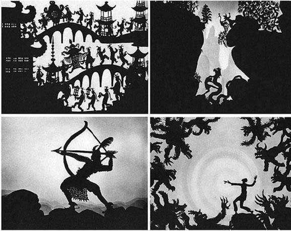 洛特·莱妮格尔1926年的剪纸动画片即使在今天也一点不过时