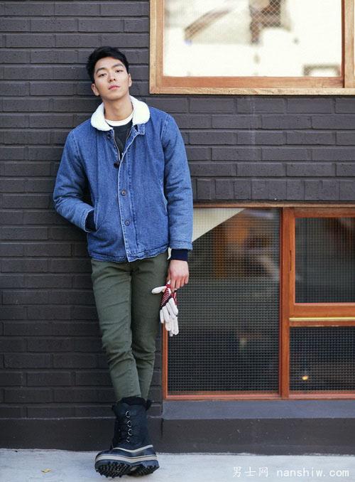 韩国风男士冬季搭配 让你帅到极致