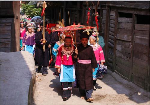 海南苗族的婚恋习俗