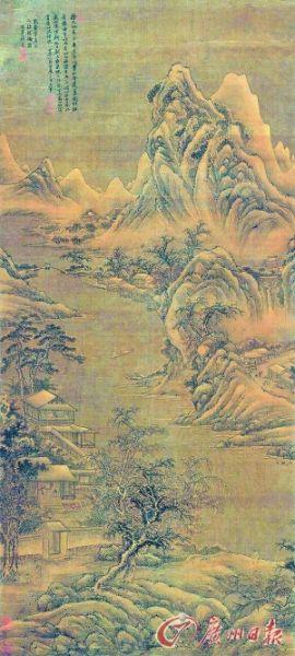 王翚《唐人诗意图》图片来源:广州日报